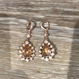 Givenchy Jewelry - Givenchy rose gold earrings